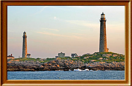 Cape Ann Light Station on Thacher Island (1771)