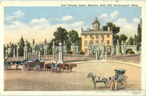 Lord Timothy Dexter Mansion Newburyport