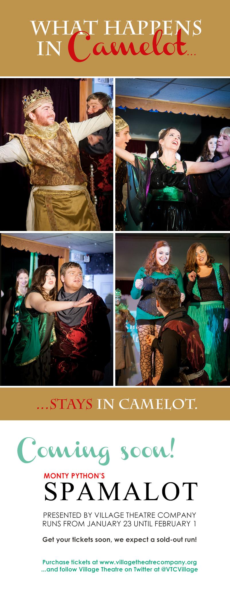 Village Theatre Spamalot Promo