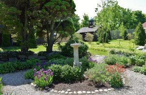 Beauport garden sundial - gloucester