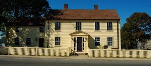 Home of George Peabody, namesake of Peabody, Massachusetts. Now a museum owned by the city.
