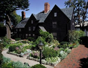 The House of the Seven Gables in Salem, 1668