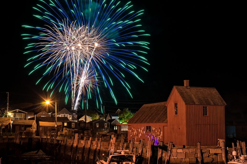 Steven Perlmutter_Rockport Fireworks_Rockport.  .  Courtesy of Essex Heritage
