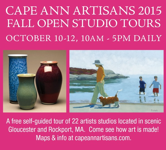 Cape Ann Artisans- Fall Open Studios 2015