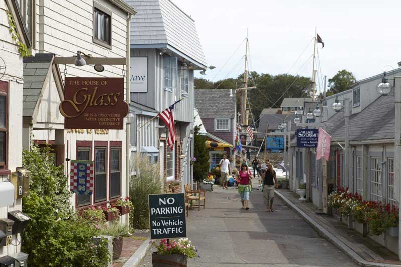 Cape Ann Rockport Shopping