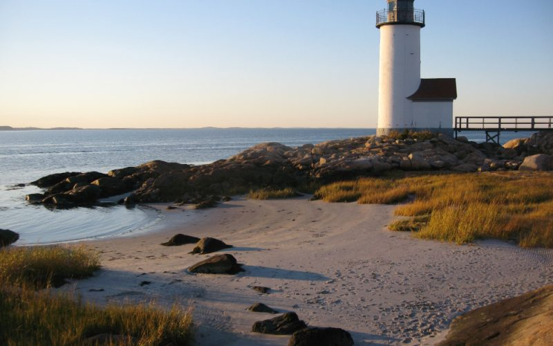 LIGHTHOUSES NORTH OF BOSTON