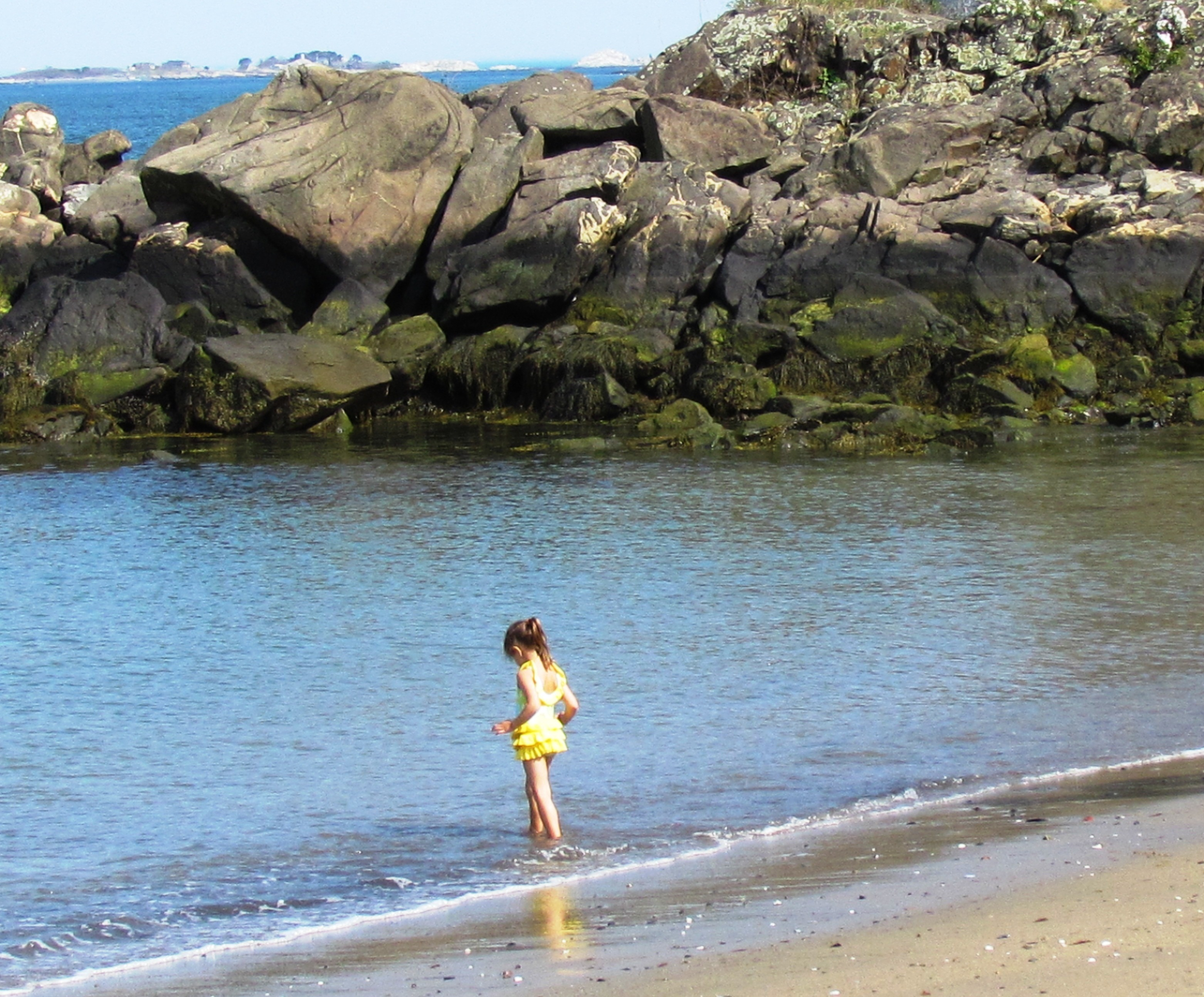 Child at Beverly Beach