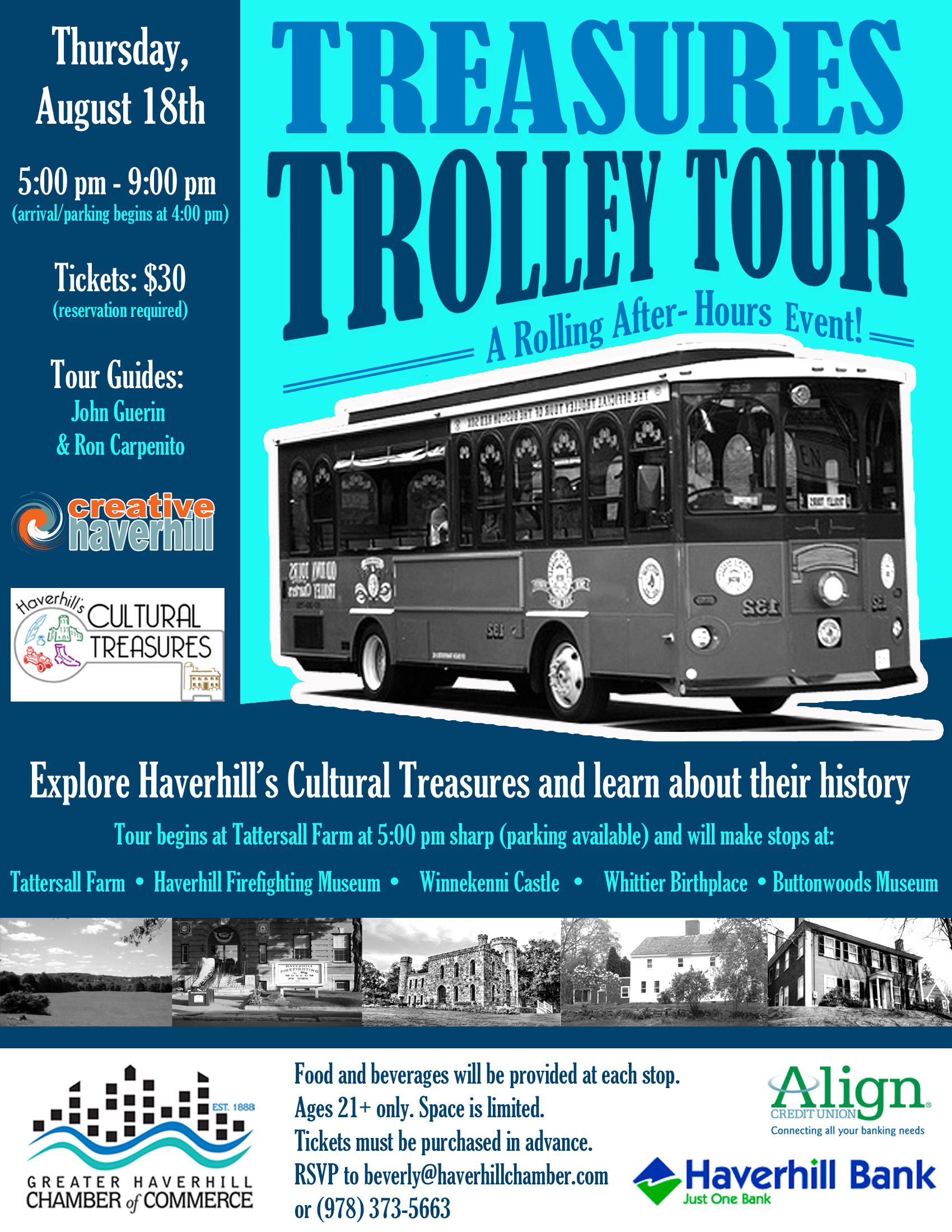 Trolley Tour Flyer 2016