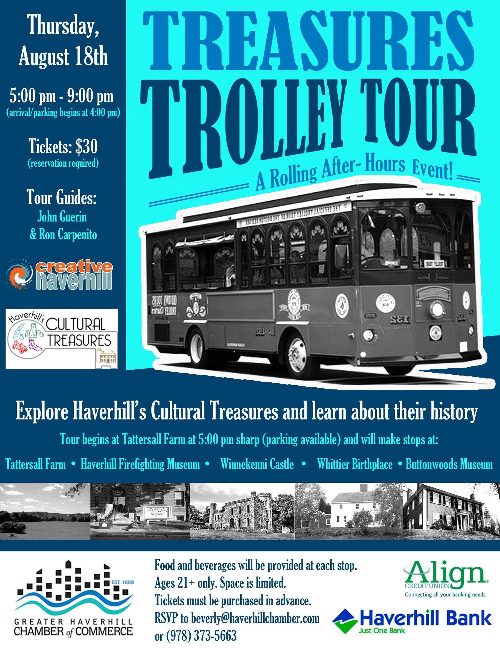 Trolley Tour Flyer 2016