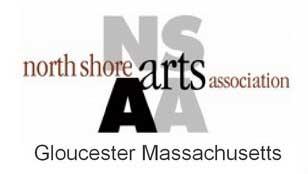 North Shore Arts Association, Gloucester Massachusetts logo.