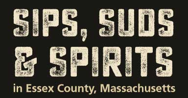 Sips, Suds, and Spirits logo for Essex County, Massachusetts.