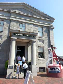 Maritime Museum in Newburyport.