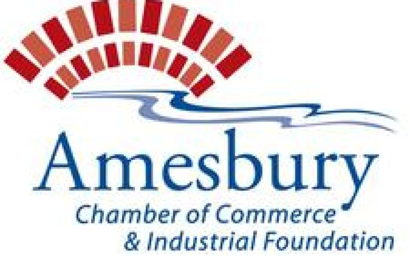 Amesbury Chamber of Commerce logo.