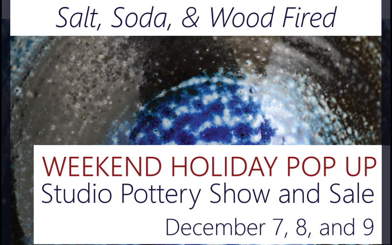 Daryl Townsley Pottery Pop Up Holiday Show and Sale