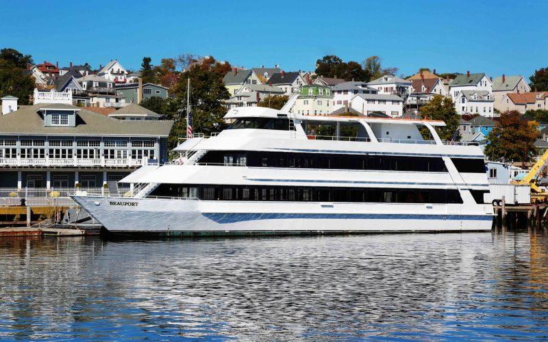 Beauport Cruiselines ship docked at cruiseport gloucester
