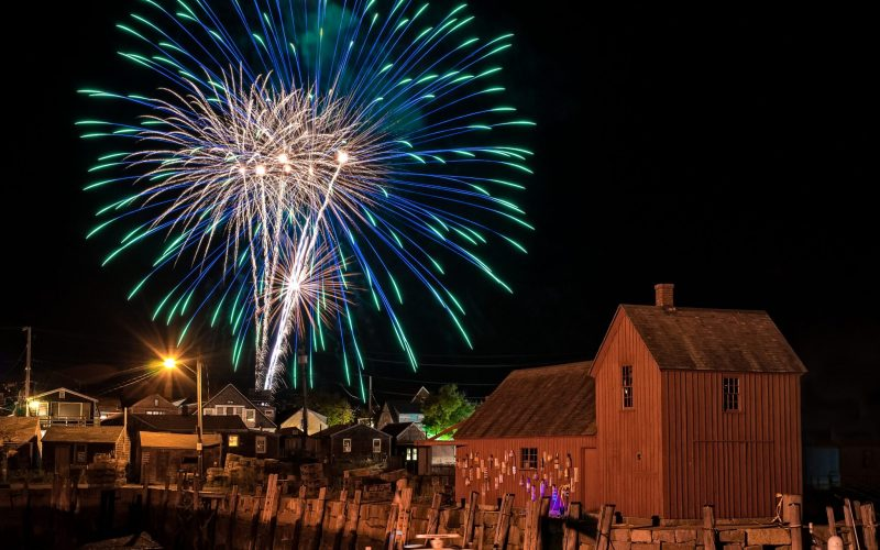 4th of July Firework Shows North of Boston 2019
