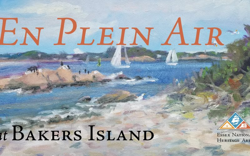 En Plein Air Painter's Workshop at Bakers Island