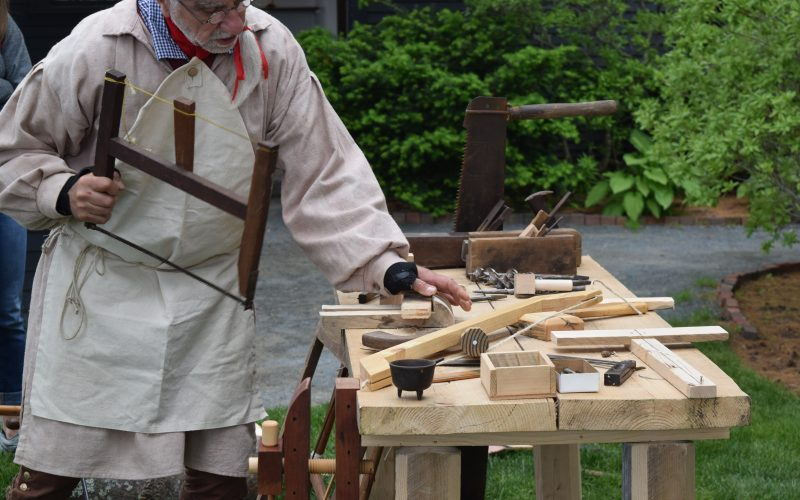 Arts and Mysteries Revealed: Historical Carpentry