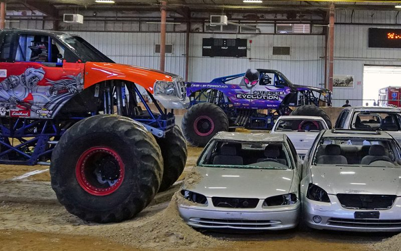 Monster Truck Freestyle Shows & Demolition Derby