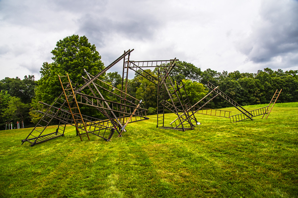 Outdoor Sculpture at Maudslay 20th Anniversary Exhibit