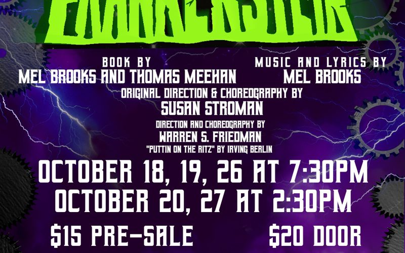 "North Shore Players present Mel Brooks' ""Young Frankenstein"""