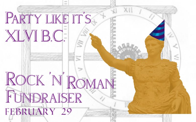 Rock 'N' Roman Fundraiser