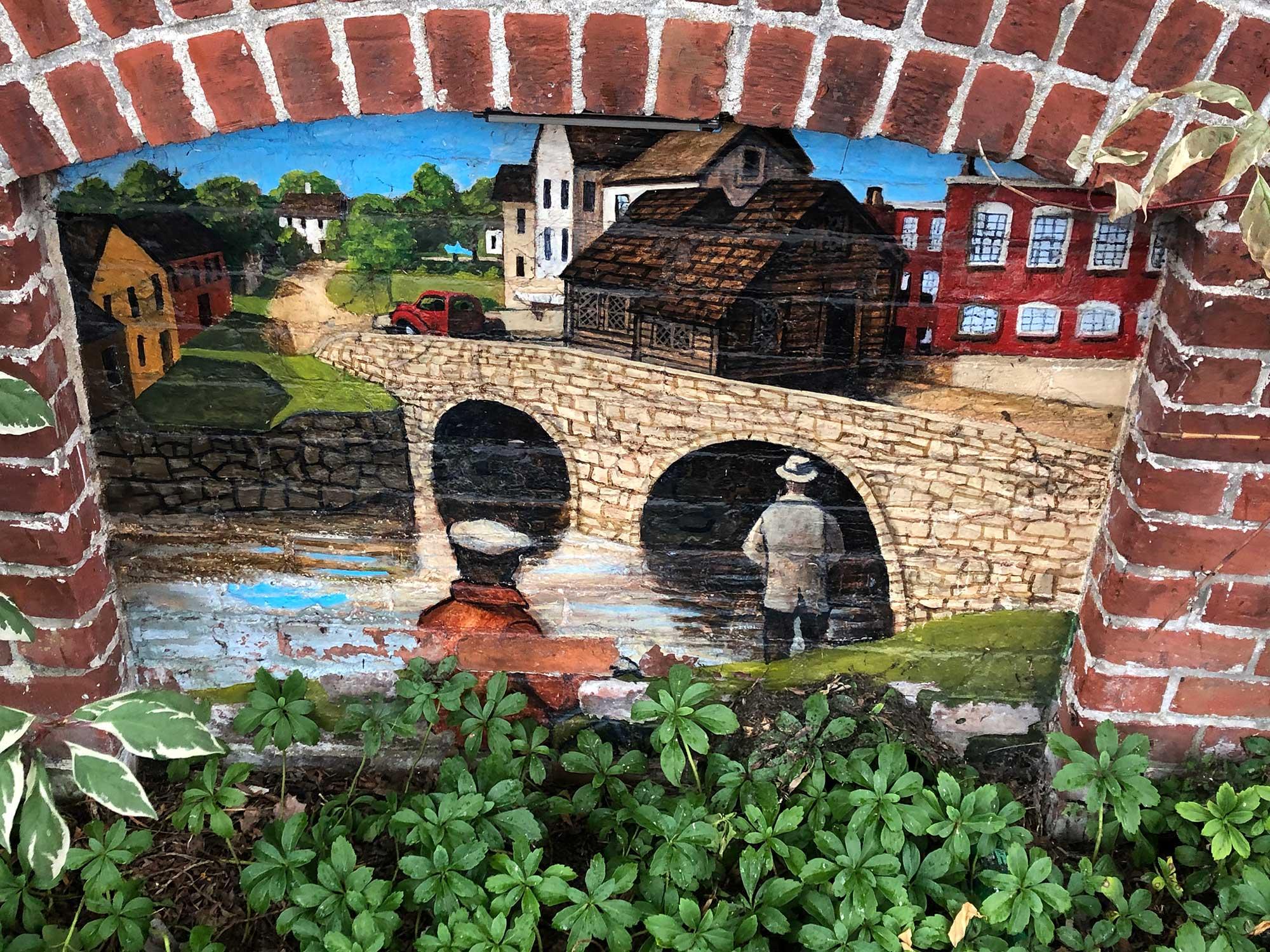 Ipswich History Mural