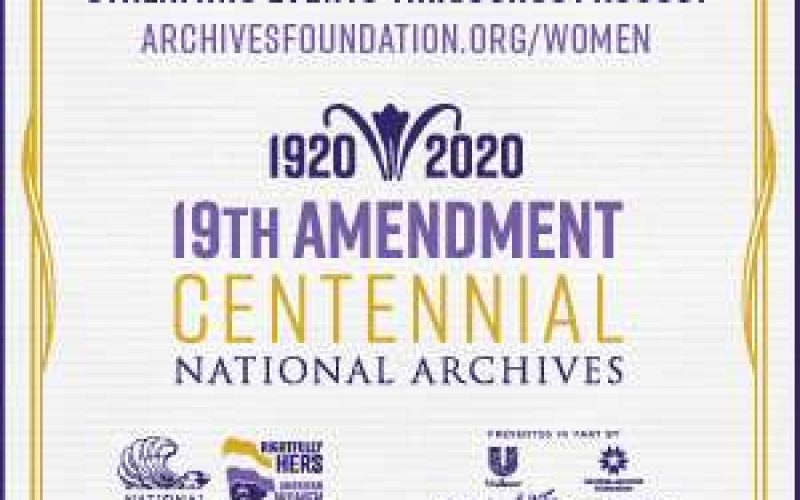 National Archives 19th Amendment Commemoration