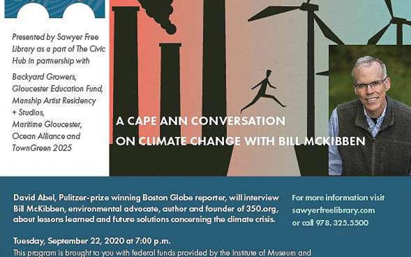 Cape Ann Conversation on Climate Change with Bill McKibben