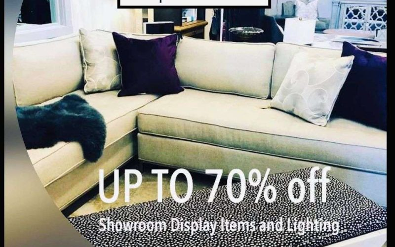 Two Day Showroom Sale at In Home Design Center