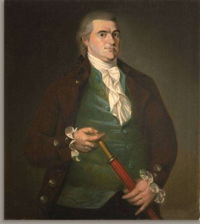 Captain Offin Boardman by Christian Gullager, about 1787 (Worcester Art Museum)