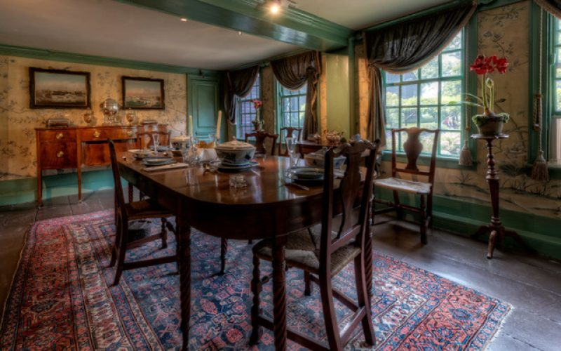 See how colonists made dinner in 17th century Salem at The Gables
