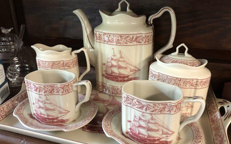 Come to a virtual tea party at The Gables
