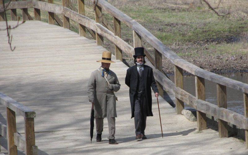 Witness a virtual encounter between Hawthorne & Thoreau