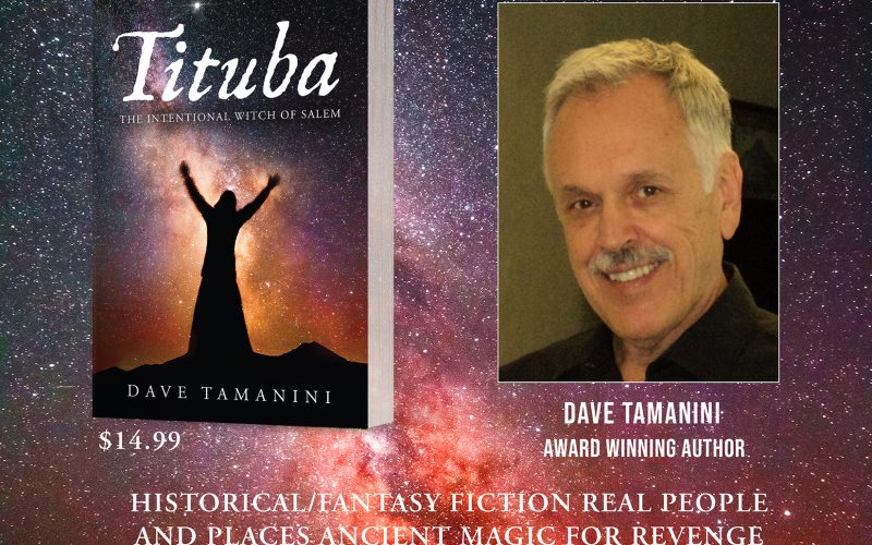 Author Signing with Dave Tamanini at the Salem Witch Museum